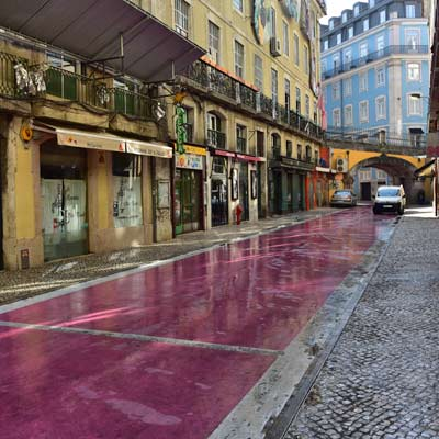 Pink Street Cais do Sodre
