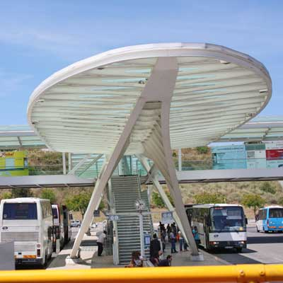 bus station at Estação do Oriente