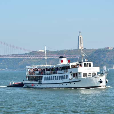party boat  Tejo Estuary