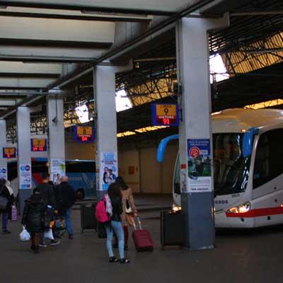 Sete Rios Bus Station Lisbon