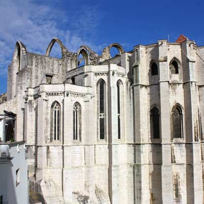 Igreja do Carmo Church   lisbon