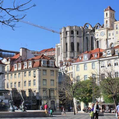 La Place Du Rossio Baixa