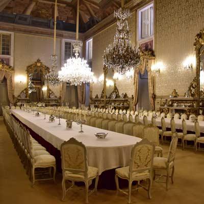 salle de banquet Palacio da Ajuda