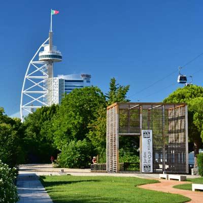 Jardim da Musica and Torre Vasco da Gama 2dbb404e934ee