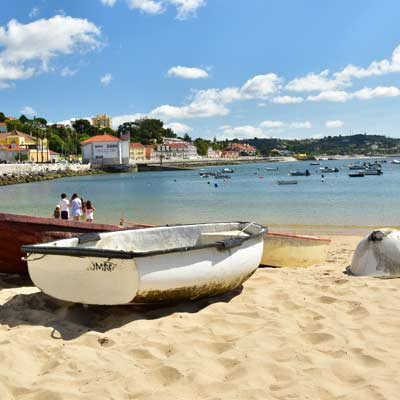 Lisbon has traditional fishing beaches
