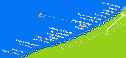 Costa de Caparica train route