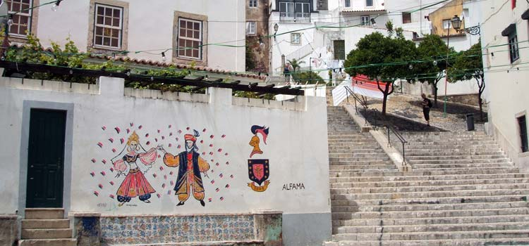 Alfama district