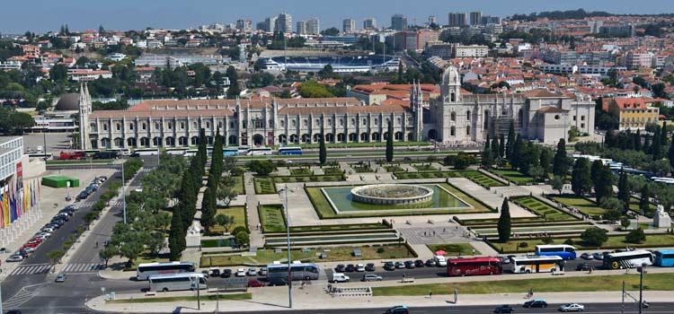 Le Quartier De Belem A Lisbonne