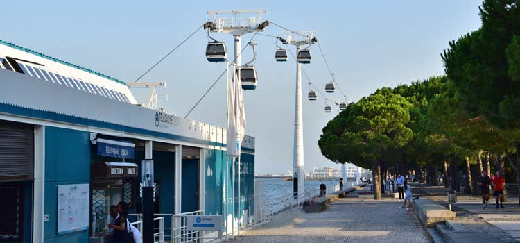 cable car Parque Nacoes
