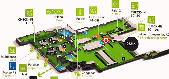 mapa aeroporto lisboa Guia do Aeroporto de Lisboa mapa aeroporto lisboa