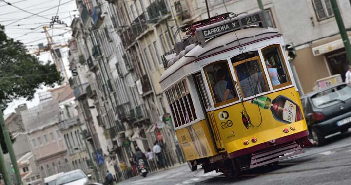 E28 tram lisbon